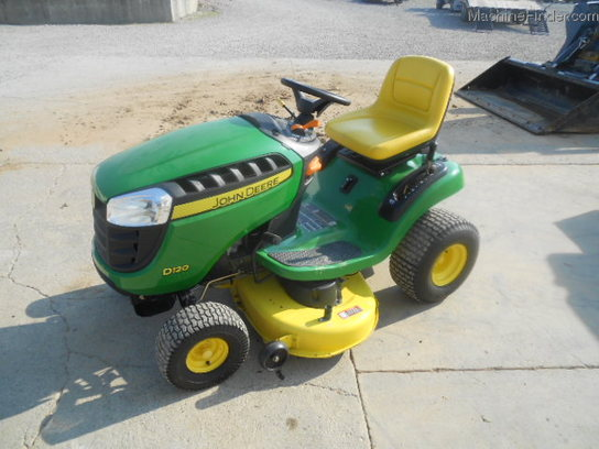 John Deere D120 42 DECK Lawn & Garden and Commercial Mowing - John ...