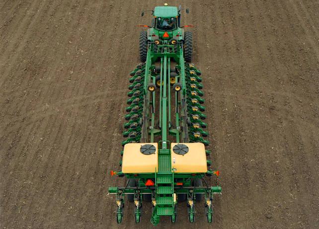 John Deere DB80 32 Row DB Planters Planting and Seeding