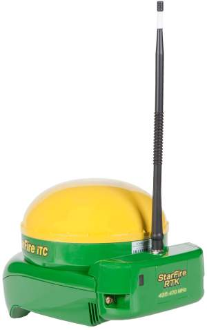 John Deere AMS Launches New ISteer And StarFire 450 RTK Radio Products