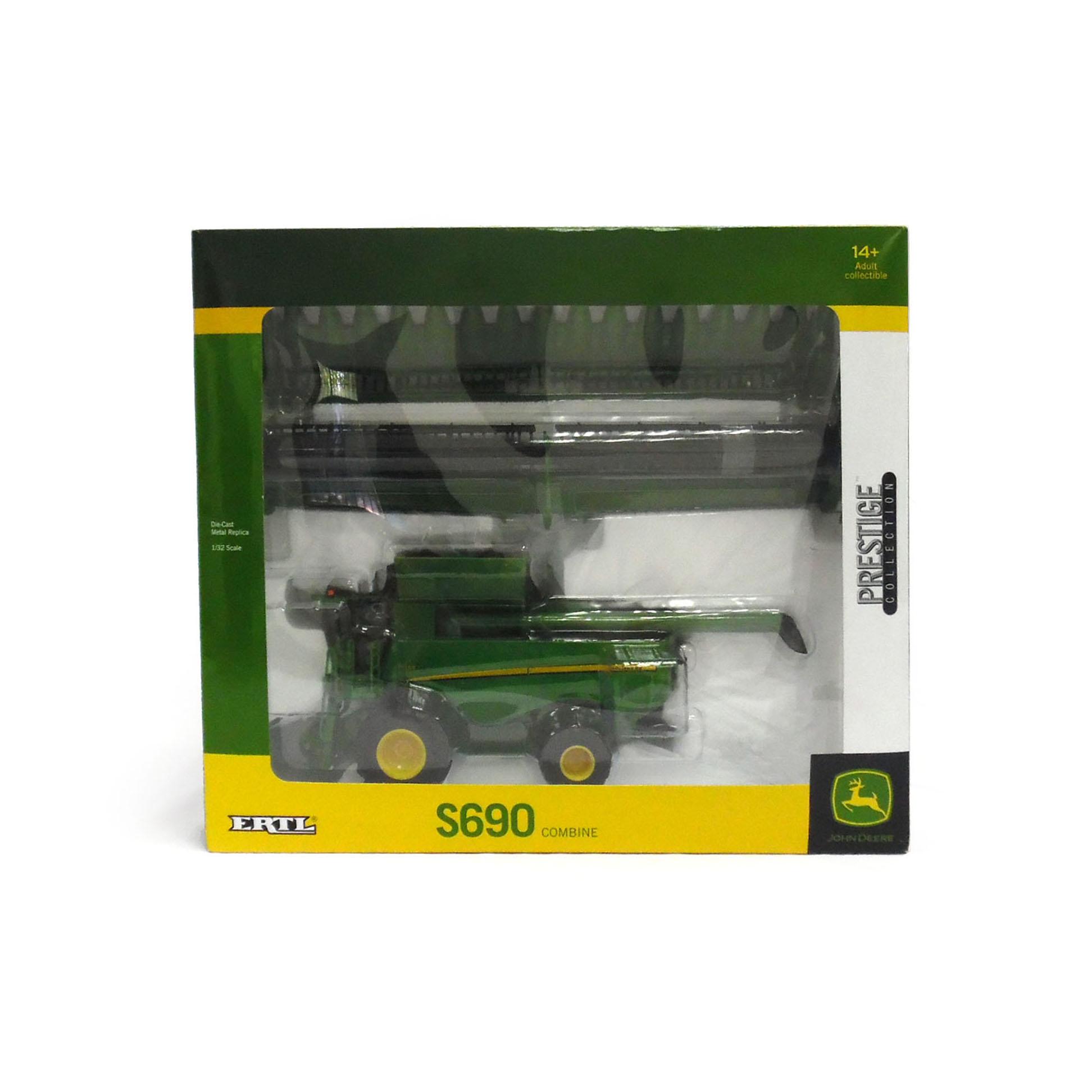 32 John Deere S690 Combine   QC Supply
