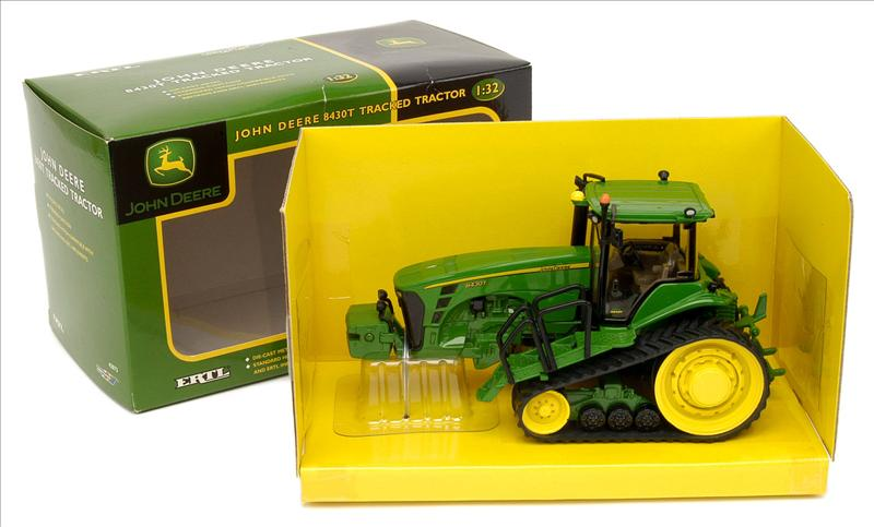 john deere toy 1 32 8320r tractor with nh3 applicator and wagon ertl ...