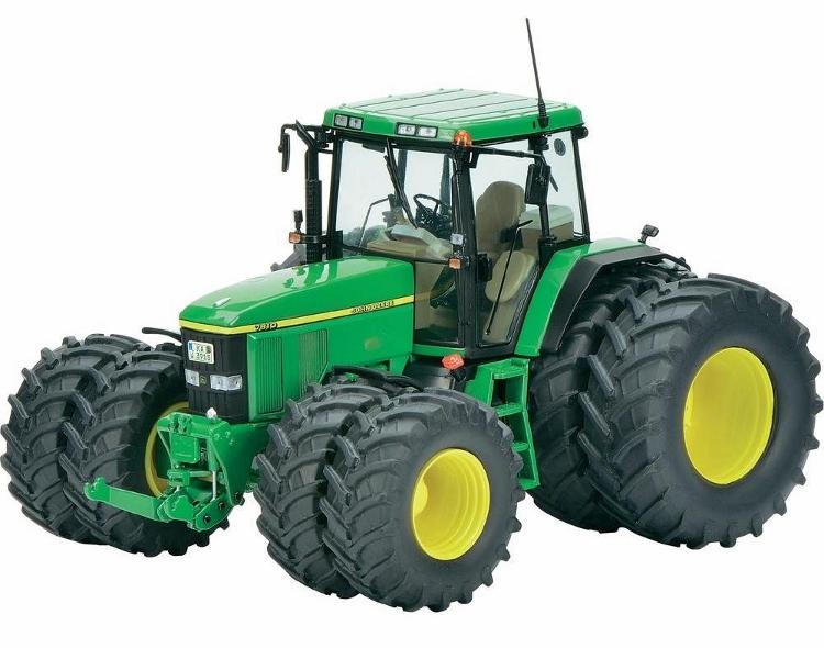 SCHUCO 1:32 John Deere 7810 Model Tractor - Diecast Zone