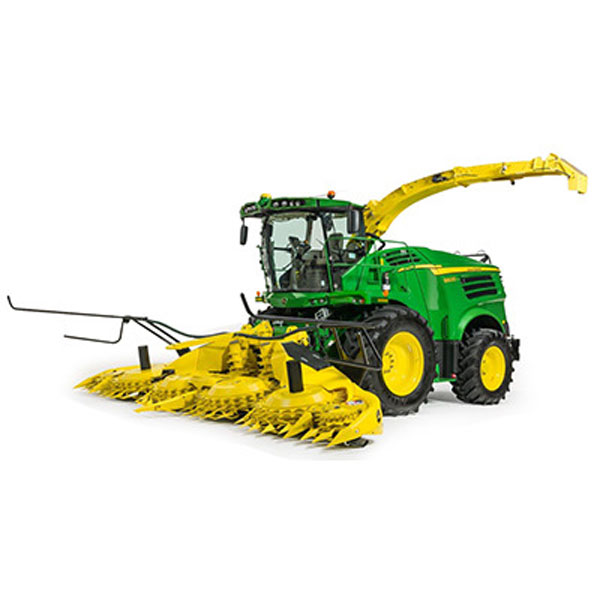 ... John Deere 8600 Self-Propelled Forage Harvester with Grass AND Maize