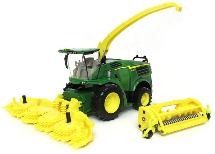 John Deere 8600 Self Propelled Forage Harvester - farmmodeldatabase ...