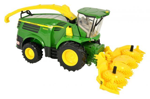 Britains John Deere 8600 Self Propelled Forage Harvester - Tractors ...