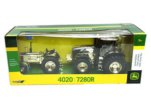 32-John-Deere-GOLD-4020-and-7280R-Now-and-Then-Tractor-Set-by-ERTL ...