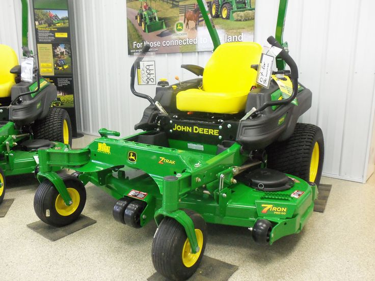 John Deere Z-Trak mower. | John Deere equipment | Pinterest
