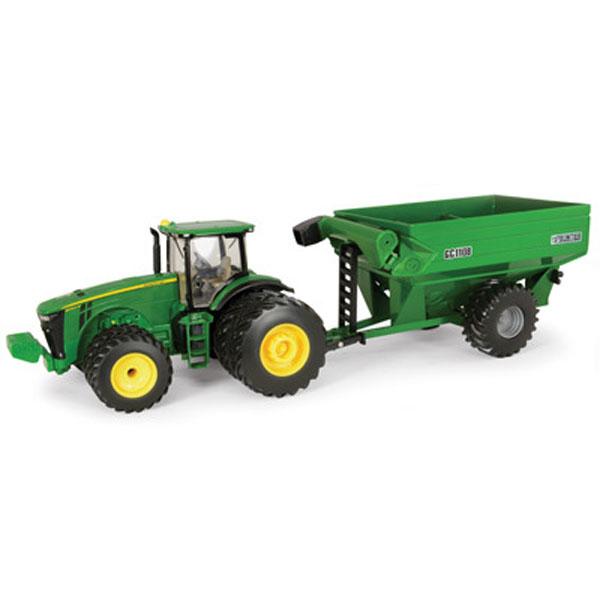 NEW John Deere 8260R Tractor with Frontier Grain Cart, 1/32 Scale ...