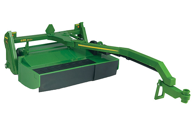 John Deere 635 pull-type mower with conditioner - farmmodeldatabase ...