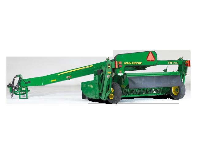 John Deere 835 Mower Conditioner 800 Series Mower-Conditioners Hay and ...