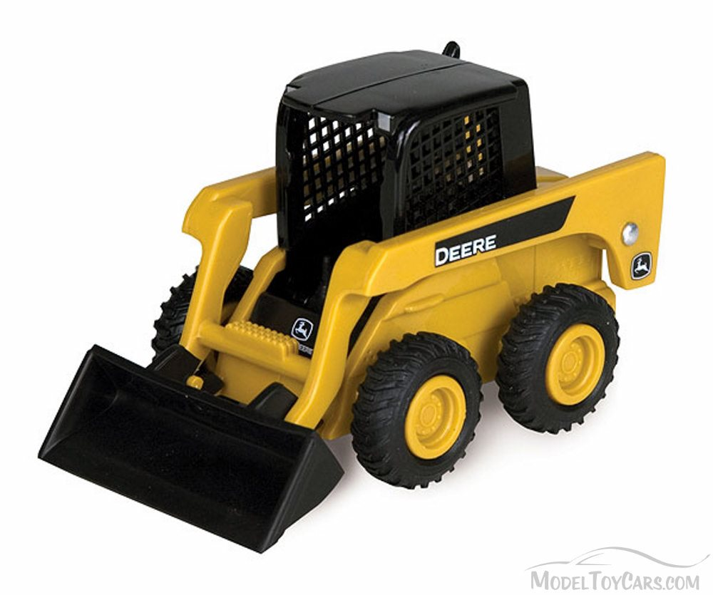 John Deere Skidsteer with Front Loader, Yellow - ERTL Collect 'n Play ...