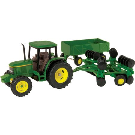 ERTL® 1:32 John Deere 6410 Tractor with Barge Wagon & Wing Disk