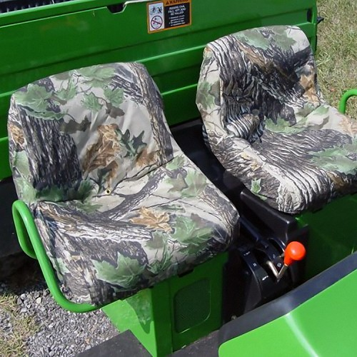 John Deere Gator Low Back Seat Covers (Pair) for TS Gator