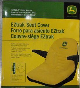 JOHN-DEERE-OEM-Seat-Cover-LP92734-for-EZTrak-zero-turn-lawn-mowers-w ...