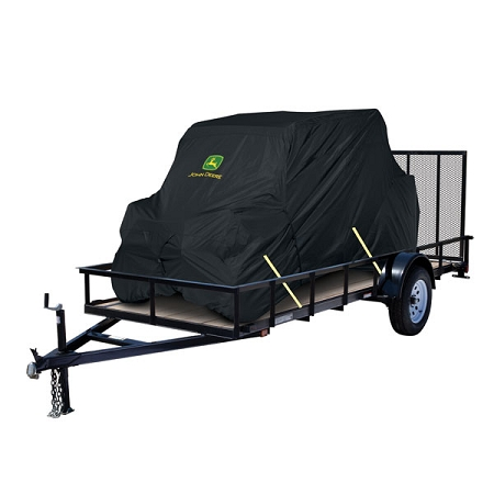 John Deere XUV 550 OPS Black Transportable Vehicle Cover - 4 Passenger ...