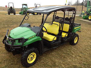 Details about 2012 JOHN DEERE 550 S4 XUV GATOR 4 SEATER # 110180