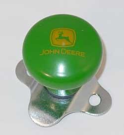 ... Deere Accessories > John Deere Steering Wheel Spinner Knob - 2000 Logo