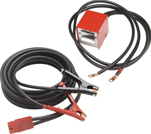 ... -All Heavy Duty Plug To Socket Jumper Cable Set 400 Amp 30ft 4-gauge