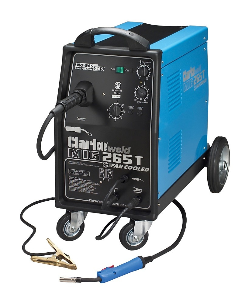 Sears Craftsman MIG 265 Gas/No Gas Welder Welding Building