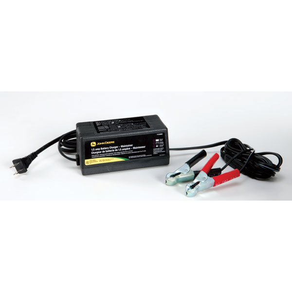 ... > John Deere Automatic 1.5-AMP Battery Charger/Maintainer - TY26328
