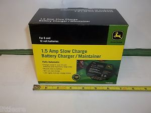NEW-JOHN-DEERE-BATTERY-CHARGER-MAINTAINER-1-5-AMP-MOUNTS-TO-YOUR ...