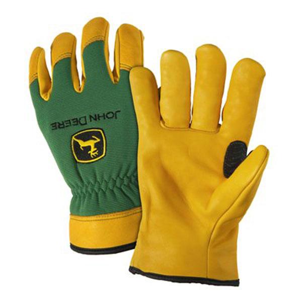 John Deere Men's Lined Deerskin Leather Driver Glove - LP47727 ...