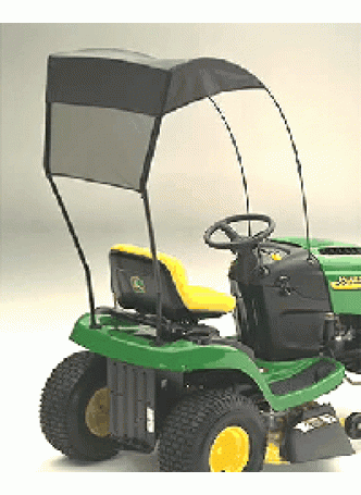 John Deere Sun Shade Canopy for D100 Series Ride-on Mowers