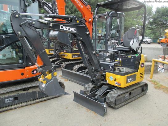 2015 John Deere 17G - Compact Excavators - John Deere MachineFinder