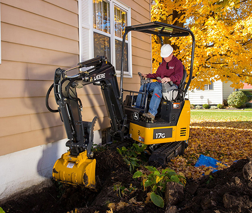 John Deere upgrades G-Series with two compact excavators : Landscape ...