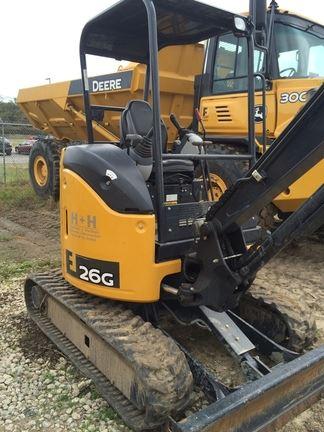 John Deere 26G - Year: 2015 - Mini excavators