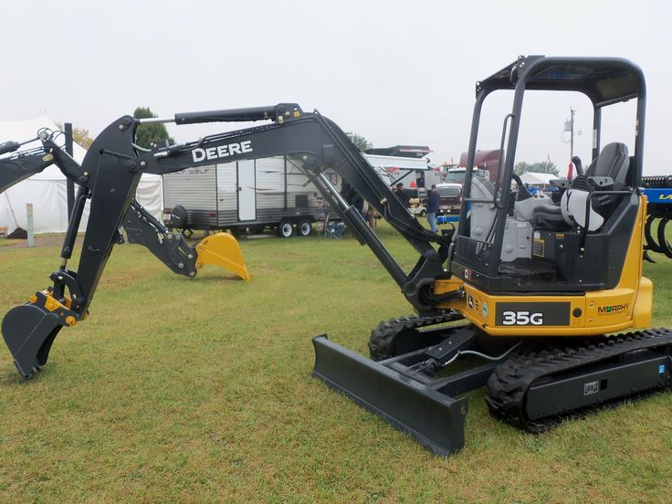 John Deere 35G compact excavator | JD construction equipment | Pinter ...