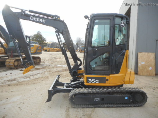 2015 John Deere 35G Compact Excavator - John Deere MachineFinder