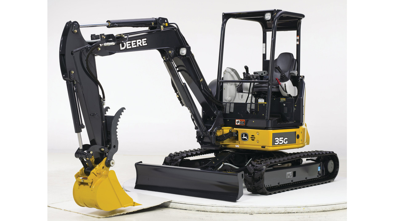 35G Mini Excavator from JOHN DEERE | ForConstructionPros.com