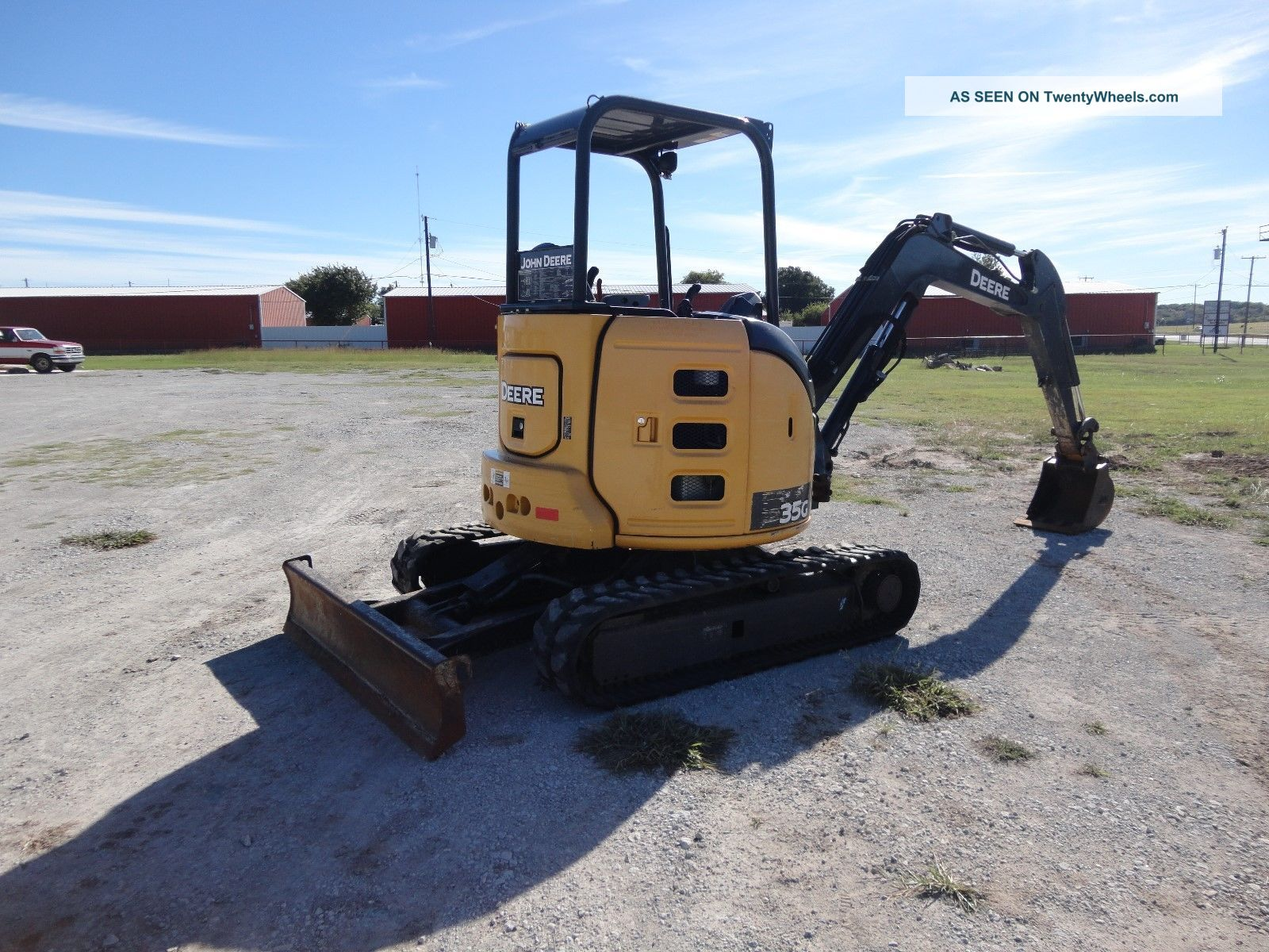 14 ' John Deere 35g Mini - Excavator Under Excavators photo 2
