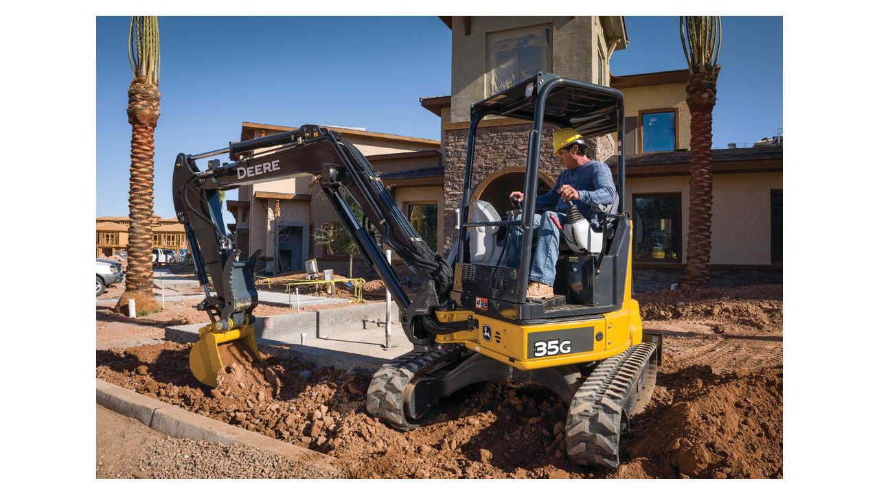 John Deere 35G Compact Excavator | Green Industry Pros