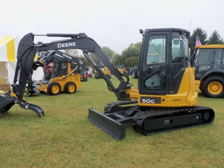 John Deere 50G excavator | JD construction equipment | Pinterest