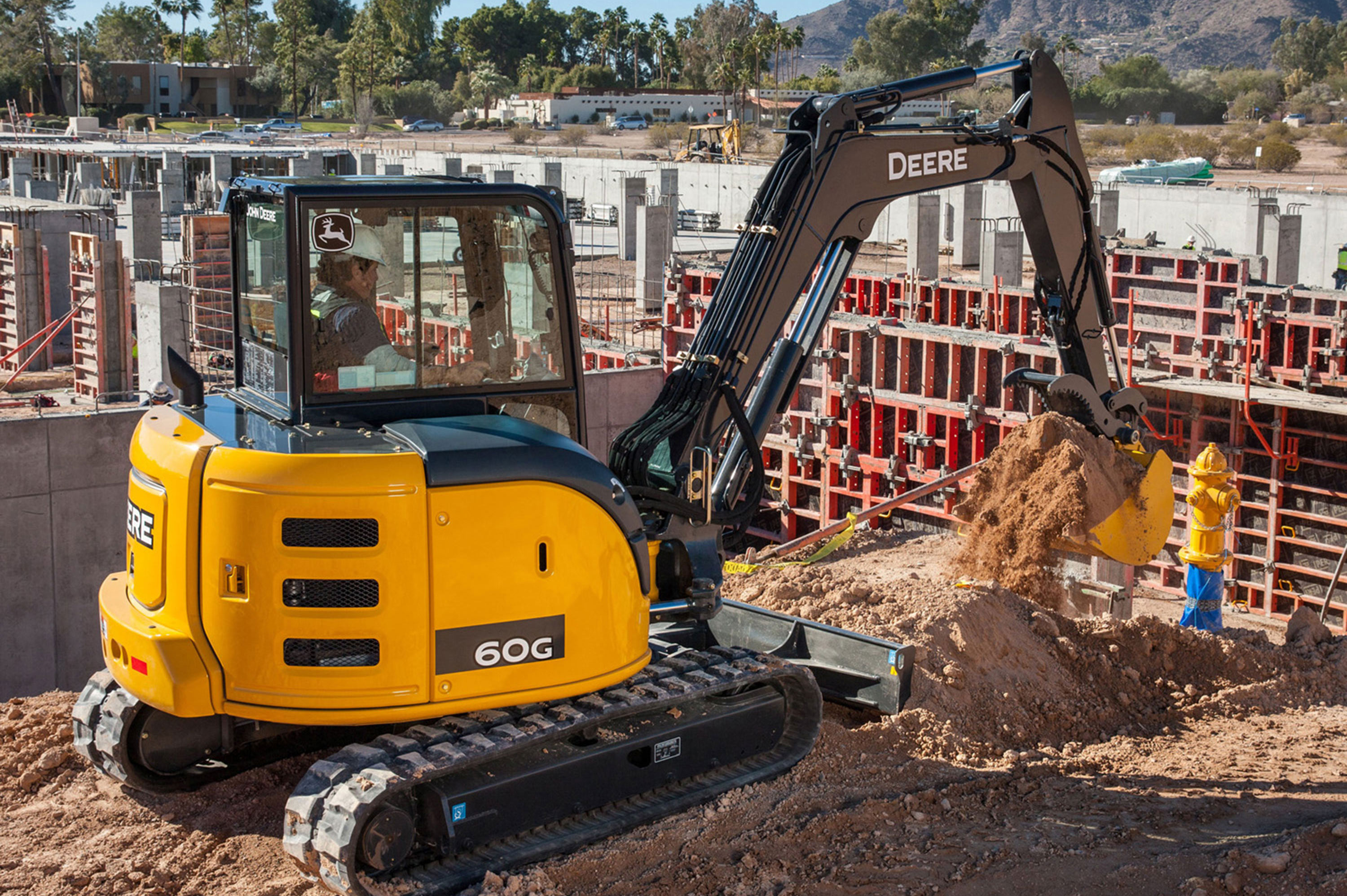 The 60G joins the G-Series, which was unveiled at World of Concrete ...