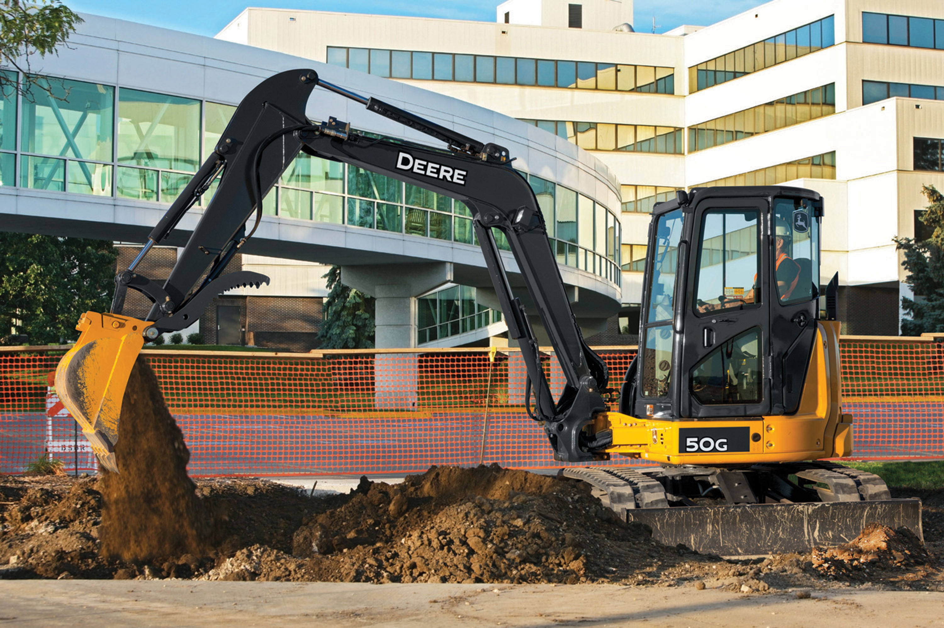 The 50G Compact Excavator is one of the newest models in the G-Series ...