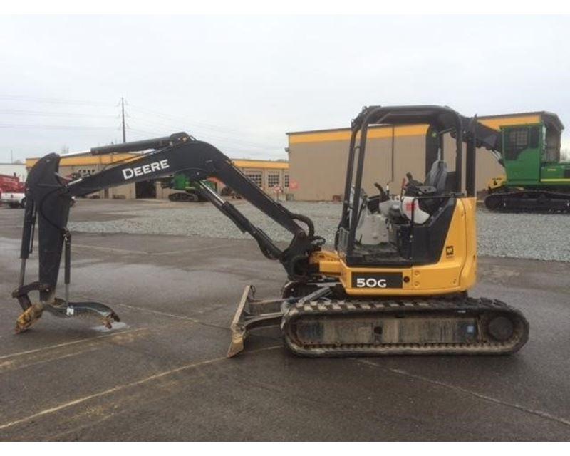 2013 John Deere 50G Mini Excavator For Sale - Kent, WA ...