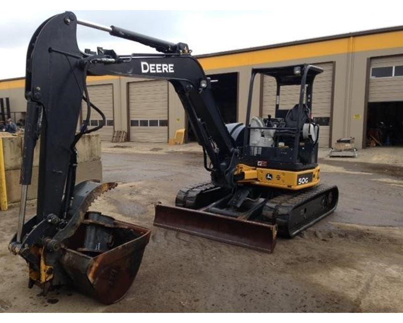 2013 John Deere 50G Mini Excavator For Sale - Portland, OR ...