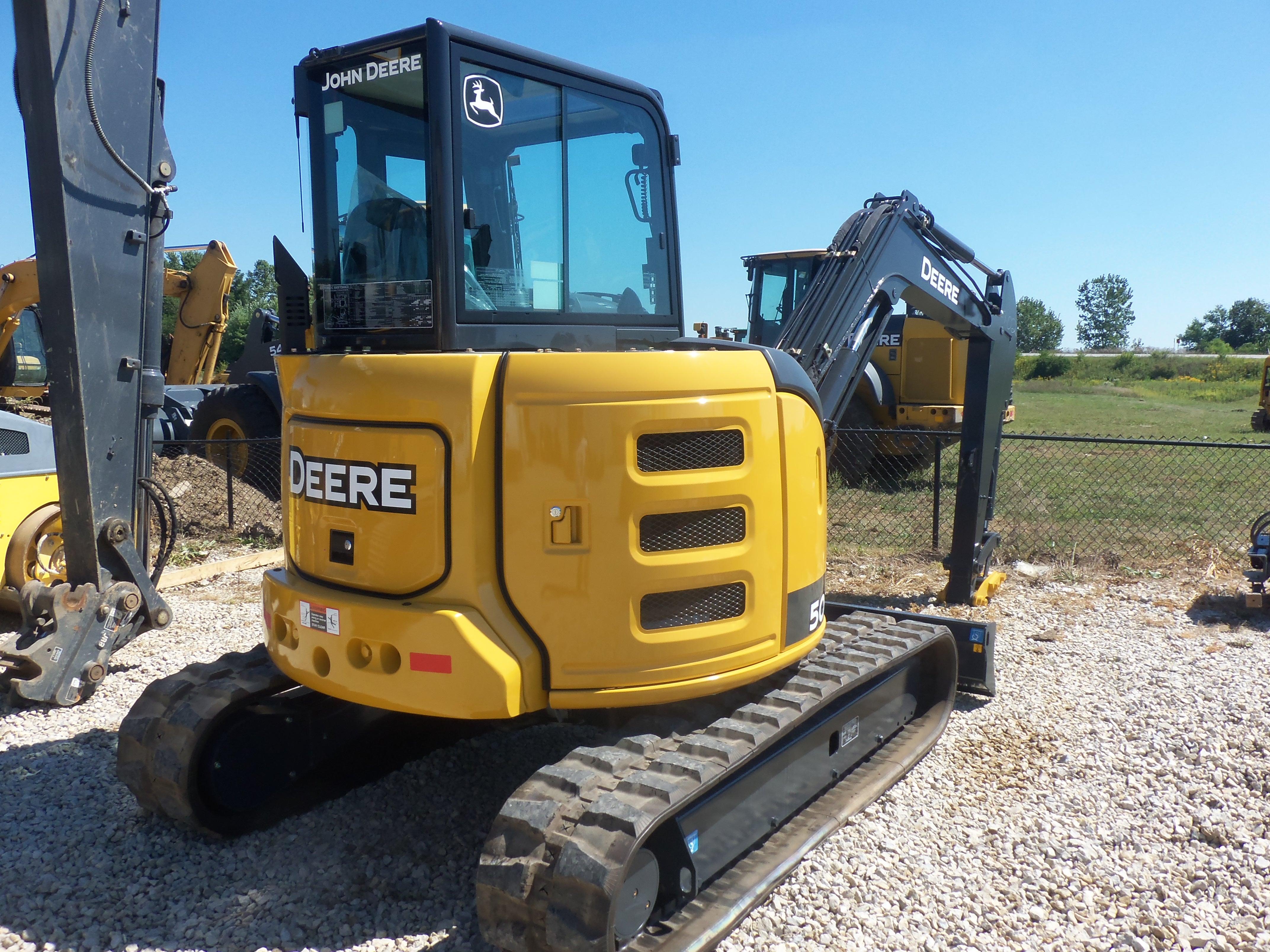 ... of 26.8 hp John Deere 50G excavator | JD construction equipment