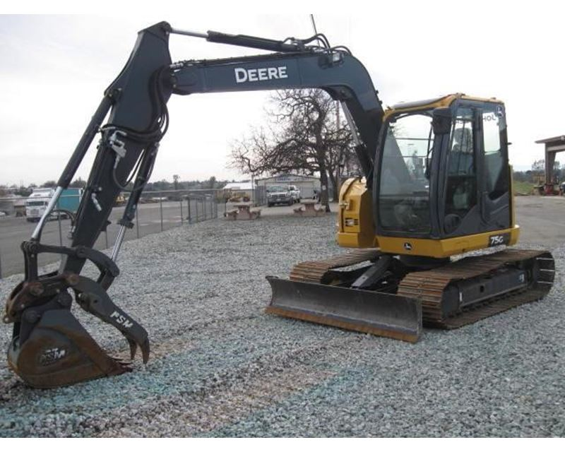 2015 John Deere 75G Crawler Excavator For Sale - Eugene, OR ...