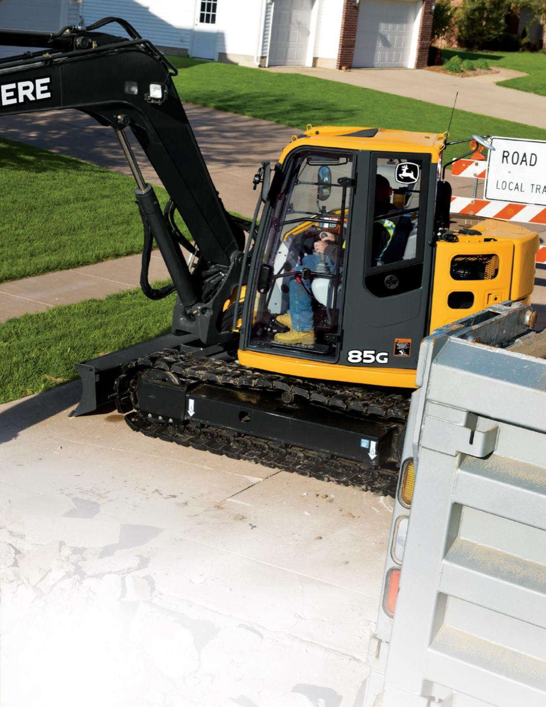 John Deere 75G-85G Excavators - page 3
