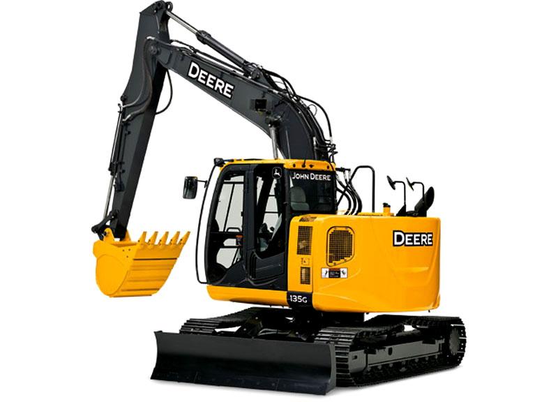 MainPump: Excavator John Deere 135G goes into production