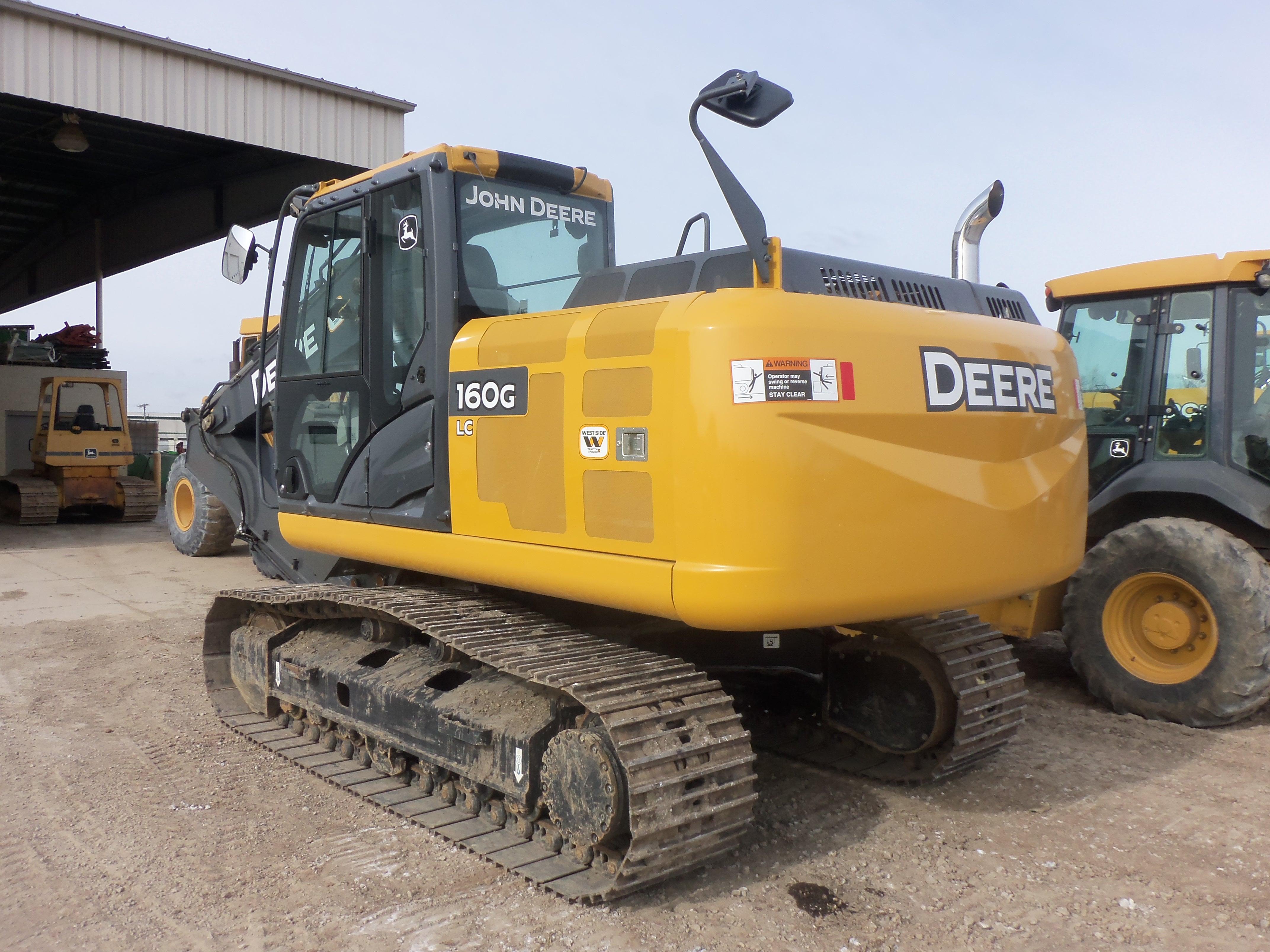John Deere 160G LC hydraulic excavator | JD construction equipment ...