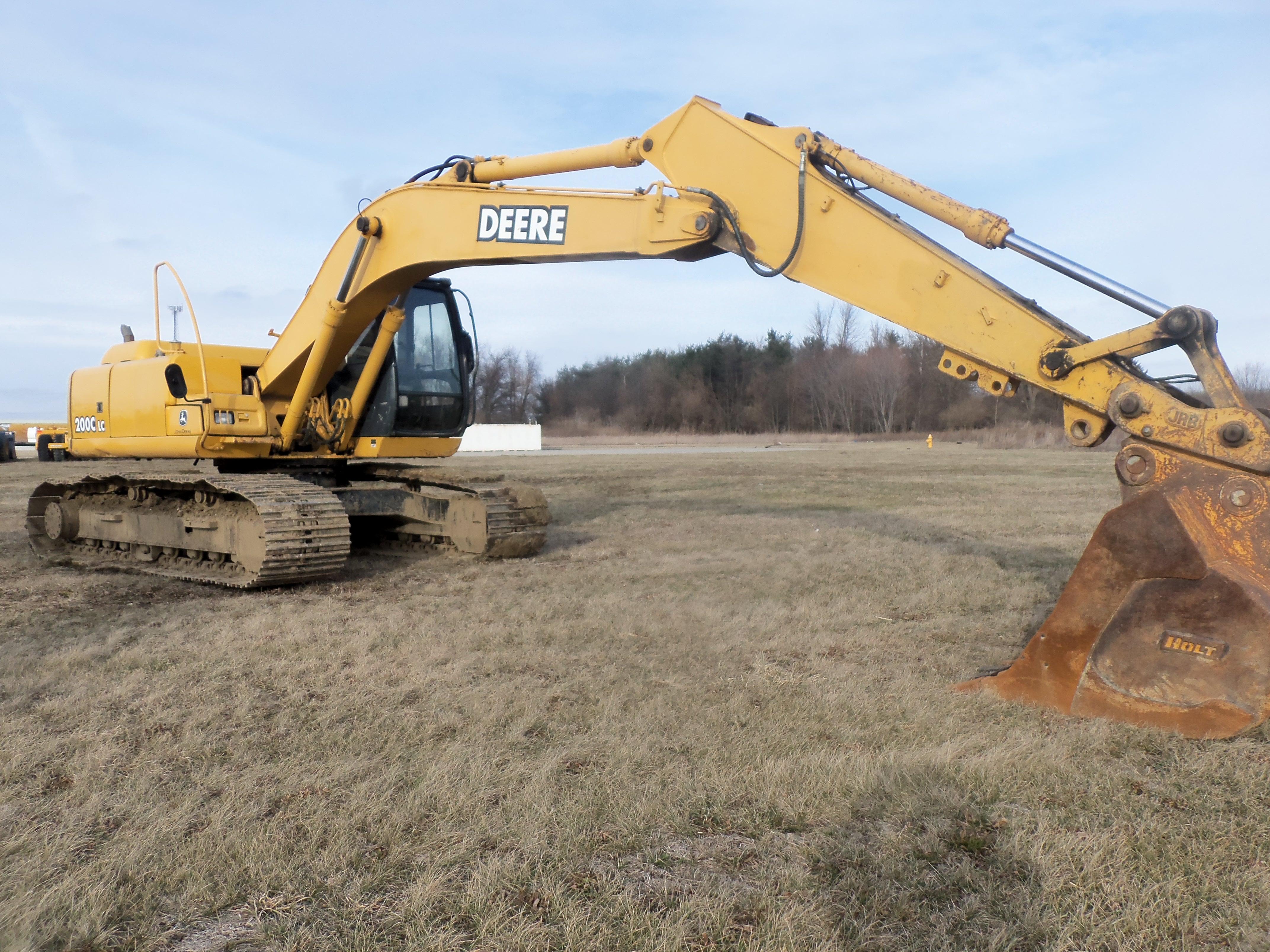 John Deere 160G LC excavator | JD construction equipment | Pinterest
