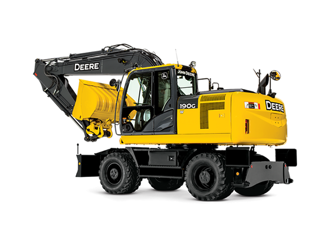 Wheeled Excavator | 190G W | John Deere US