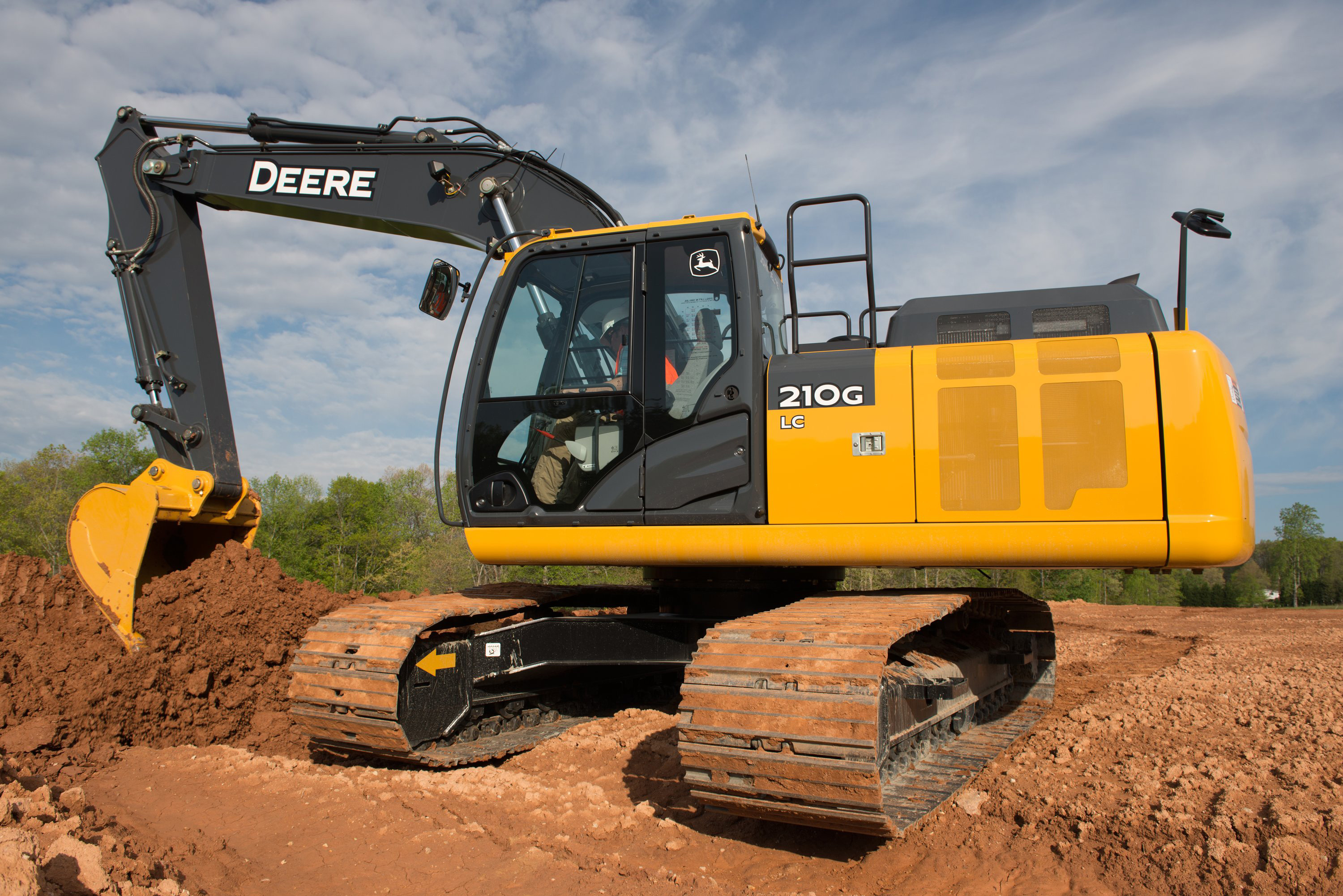 The John Deere 210G LC excavator created specifically for Living Lands ...
