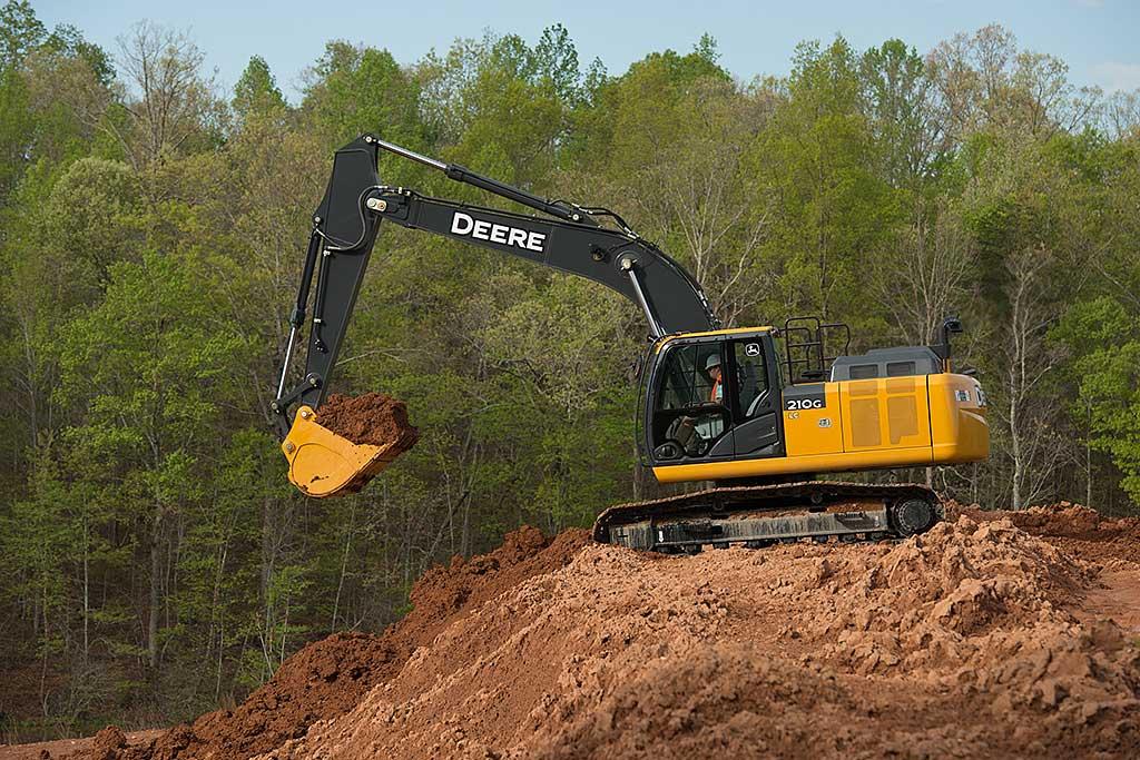 Machine of the day: John Deere 210G LC excavator - Equipment Journal ...