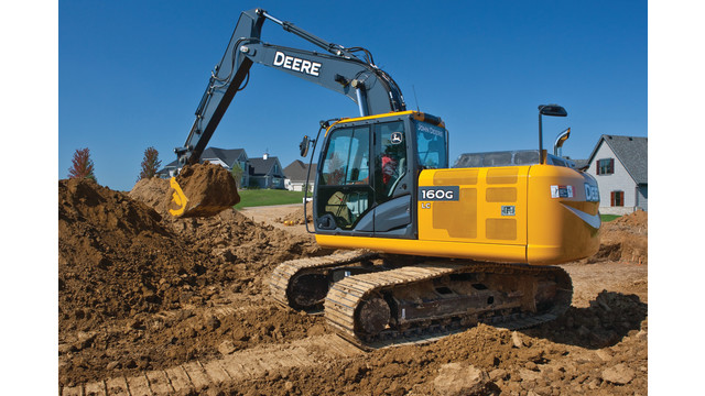 John Deere 160G LC and 210G LC Excavators | ForConstructionPros.com
